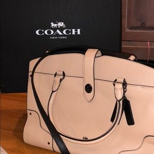 BNWT Coach Mercer Satchel